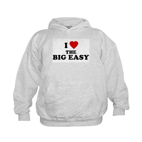 I Love [Heart] the Big Easy Kids Hoodie