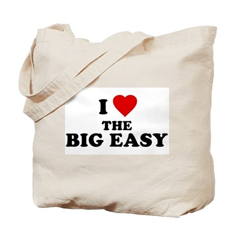 I Love [Heart] the Big Easy Tote Bag