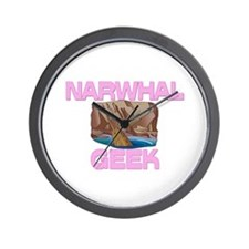 Narwhal Geek Wall Clock