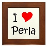 Cool Perla Framed Tile