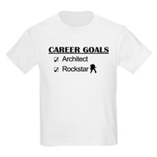 Architect Career Goals Rockstar T-Shirt