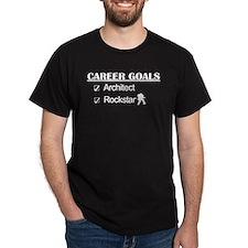 Architect Career Goals Rockstar T-Shirt