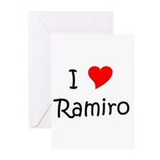 Cute I love ramiro Greeting Cards (Pk of 10)