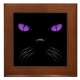 Boo - Amethyst Framed Tile