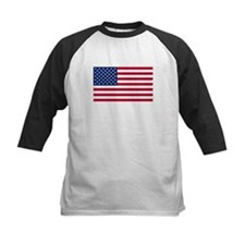 United States Flag Sticker Tee