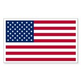 United States Flag Bumper Stickers Rectangle Bumper Stickers