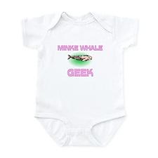 Minke Whale Geek Infant Bodysuit