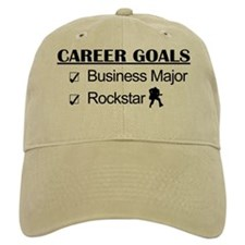 Business Major Career Goals Rockstar Baseball Cap
