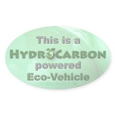 HydroCarbon Eco-Vehicle Oval Sticker (50 pk)