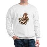 English Trumpeter Red Splash Sweatshirt