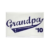 grandpa t-shirts '10 Rectangle Magnet