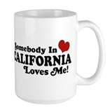 Somebody in California Loves Me Coffee Mug