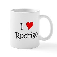 Unique I love rodrigo Mug