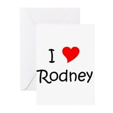 Cute Rodney Greeting Cards (Pk of 20)
