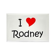 Cute Rodney Rectangle Magnet