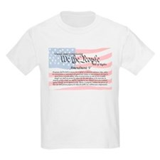 Amendment V and Flag T-Shirt