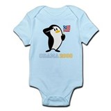 Proud Penguin OBAMA 2008 Onesie