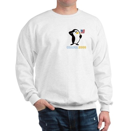 Proud Penguin OBAMA 2008 Sweatshirt