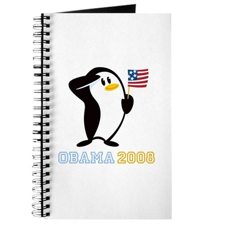 Proud Penguin OBAMA 2008 Journal