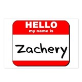 Hello my name is Zachery Postcards (Package of 8)