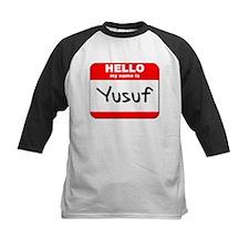 Hello my name is Yusuf Tee