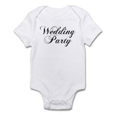 Wedding Party Infant Creeper