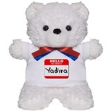 Hello my name is Yadira Teddy Bear