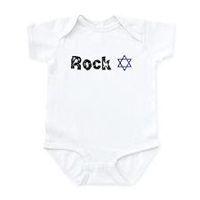 Rock Star of David Infant Bodysuit