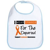 Leukemia I Wear Orange Bib