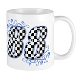 local track driver #88 Small Mugs