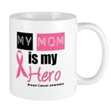Breast Cancer Hero Small Mugs