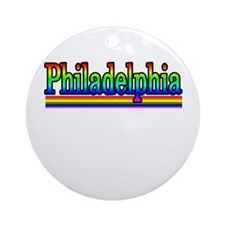 phila gay colors Ornament (Round)