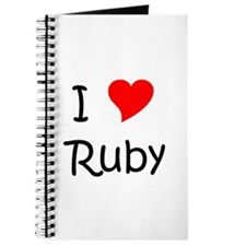 Cute Ruby Journal