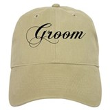 Groom Baseball Cap