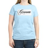 Groom Women's Pink T-Shirt