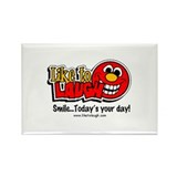 LiketoLaugh.com Rectangle Magnet (10 pack)