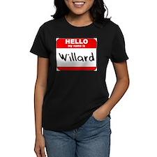 Hello my name is Willard Tee