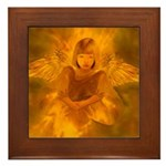 Angel #108 : Framed Tile