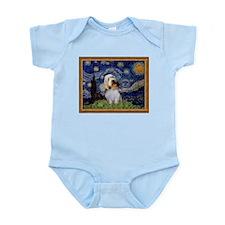 Starry Night PBGV Infant Bodysuit