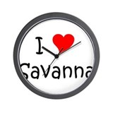 Cool Savanna Wall Clock