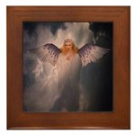 Angel #126 : Framed Tile