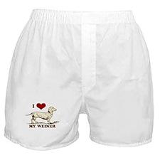 I love my Weiner Dog! Boxer Shorts