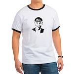 B-ball Obama Ringer T