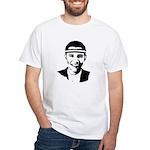 B-ball Obama White T-Shirt