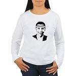 B-ball Obama Women's Long Sleeve T-Shirt