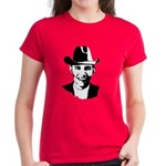 Cowboy Obama Women's Dark T-Shirt