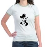 Cowboy Obama Jr. Ringer T-Shirt