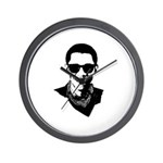 Hipster Obama Wall Clock