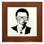 Kanye Obama Framed Tile