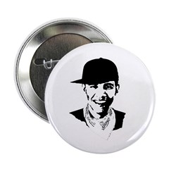 "Barack Obama Hipster 2.25"" Button (10 pack)"